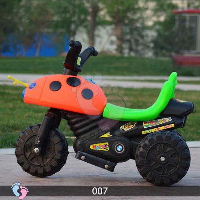 Xe máy điện 3 bánh trẻ em 007