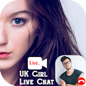 Random Video Chat with Uk Girls - Girls Live Chat icon