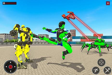 Speed Spider Robot Hero Rescue Mission