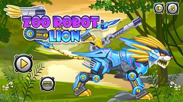 Zoo Robot:Lion screenshot
