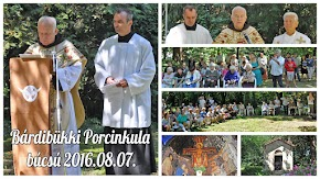 Bárdibükki Porcinkula búcsú 2016.08.07.