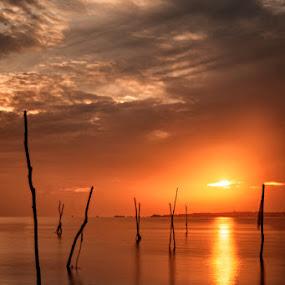 Kelayang Sunrise by Mario Wibowo - Landscapes Beaches ( canon, studio, workshop, mario, kursus, 2013, les, travel, photo, mwp, photography, seminar, mario wibowo, kelapa gading, foto, wibowo, trip, nikon, belitung )