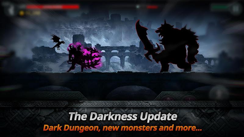 Dark Sword v1.7.1 (Mod Gold/Souls/Keys/Stamina/1 Lvl)