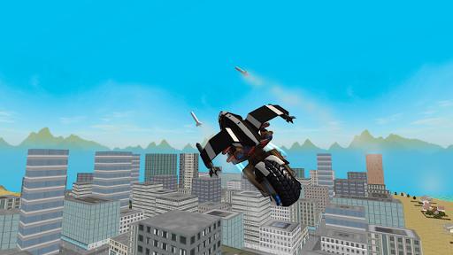 Flying Police Motorcycle Rider screenshot 1