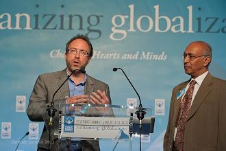 Photo: Jimmy Wales, Wikimedia Foundation & Prof. Prabhu Guptara