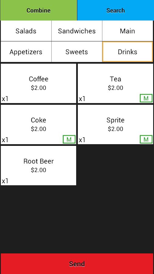 Restaurant POS (Full)- screenshot
