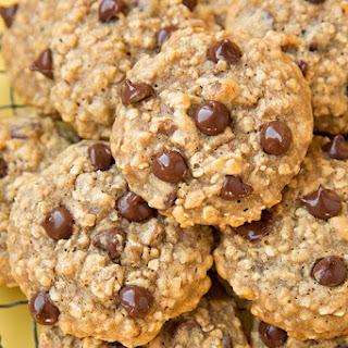 Banana-Oat Chocolate Chip Cookies