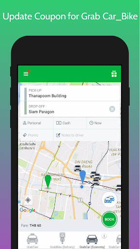 Guide Update Coupon for Grab Car_Bike 1.0 screenshots 2