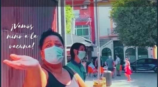 """""""Vamos niño a la vacuna"""": un vídeo del mercadillo de la Plaza Pavía como reclamo"""