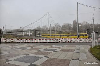 Photo: Wolff & Müller-Baustelle beim Leuze am Schwanentunnel (vom Leuze-Eignag aus gesehen)
