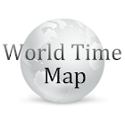 World Time Map icon