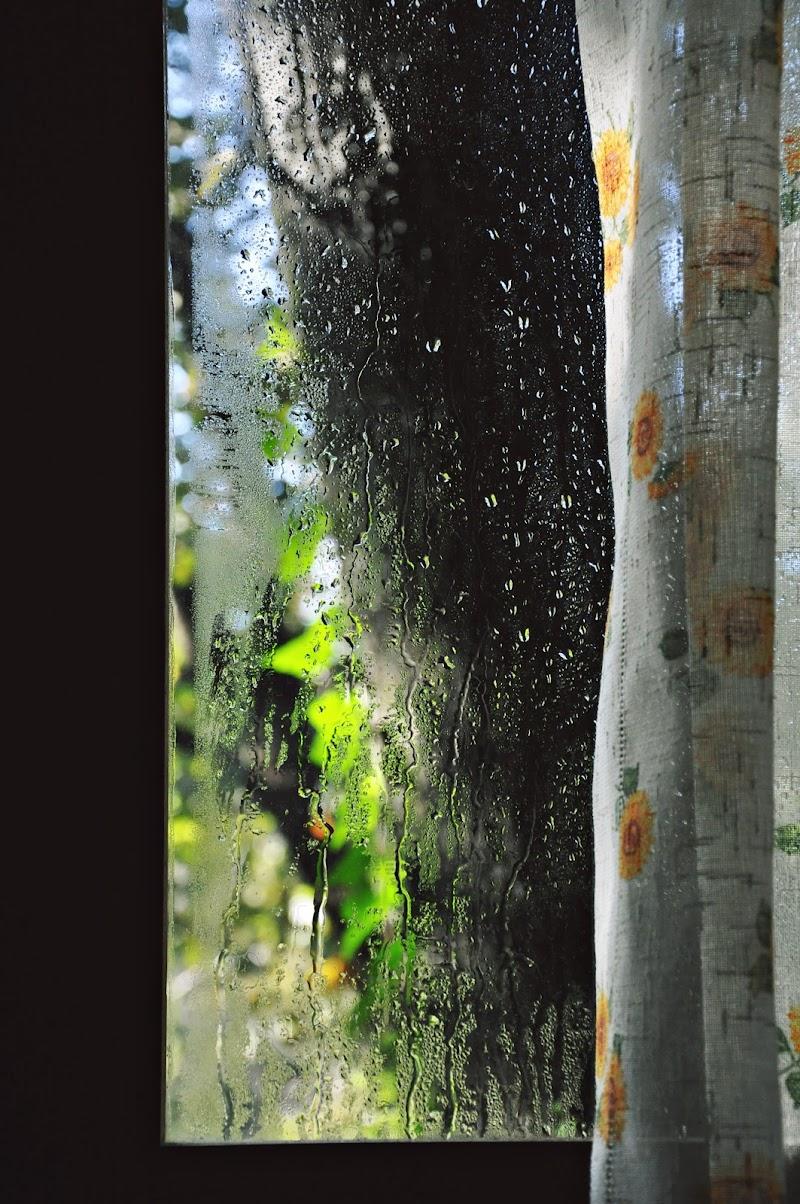 Le finestre e l'acqua hanno sempre, o quasi, una storia da raccontare. di CristinaCorridore