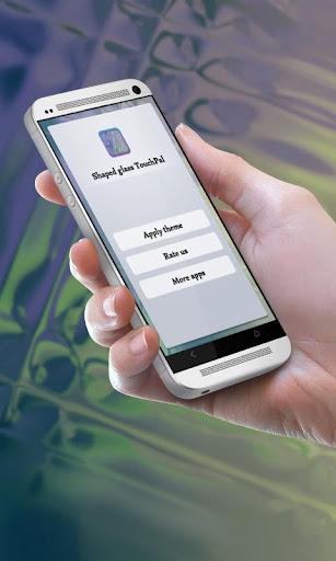 成形ガラス TouchPal