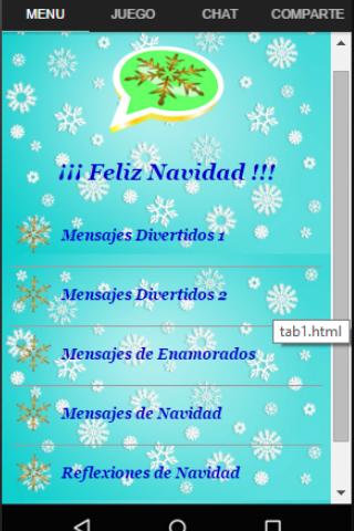 android Feliz Navidad para Whatsapp Screenshot 0