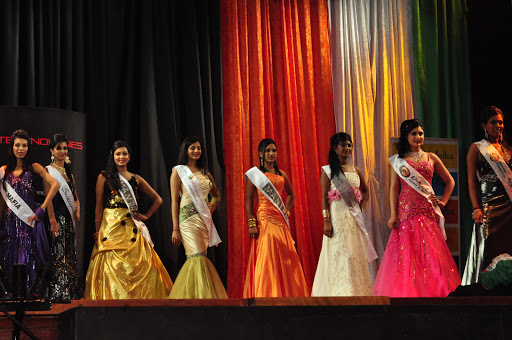 Miss India South Africa 2011 evening gown section.
