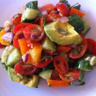 Holy Guacamole Salad