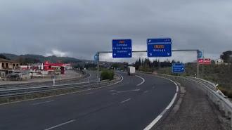 Almería es la tercera provincia con mayor descenso del flujo de coches.