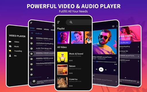 Tik Tik Video Player -All Format Media Player 2020 1.4 screenshots 1