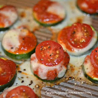 Zucchini Mini Pizzas.