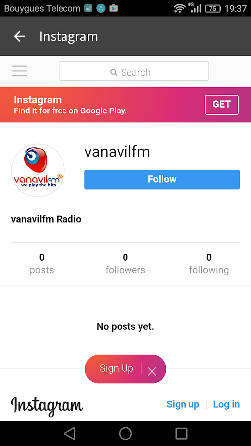 Vanavilfm Tamil Radio Official- screenshot
