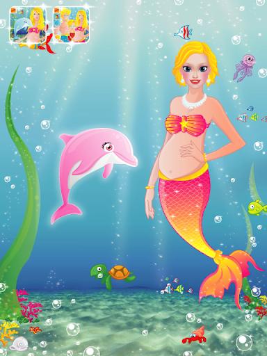 玩免費休閒APP|下載Pregnant Mermaid Dolphin Care app不用錢|硬是要APP