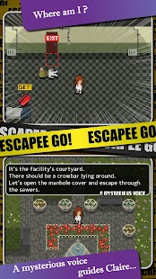 Completely Free Pixel Stealth Action: ESCAPEE GO!- screenshot thumbnail