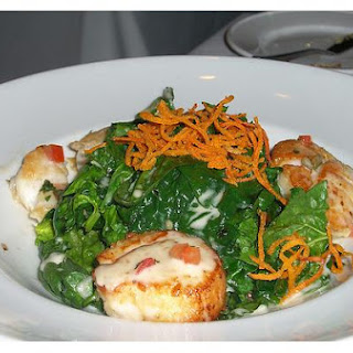 Scalloped Spinach