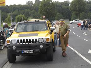 Photo: Die MP sorgt für Ordnung!