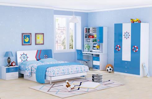 Nên thiết kế phòng ngủ với màu sắc phù hợp giới tính trẻ