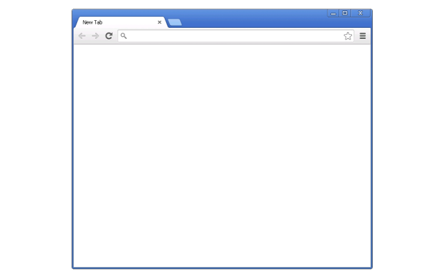 New Tab Page - Blank