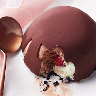 Chocolate-Pistachio Tartufo