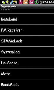 Engineer Mode MTK Shortcut 1