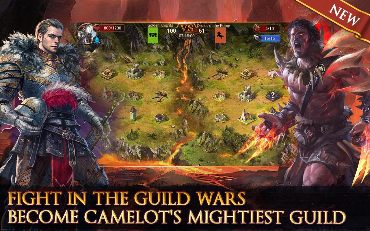 Heroes of Camelot- screenshot