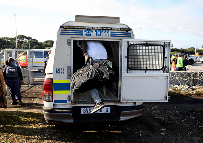 IN PICS | 56 arrested as Bheki Cele, Sihle Zikalala conduct roadblocks in KZN
