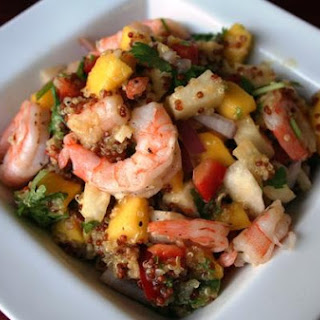 Mango Quinoa Salad With Shrimp