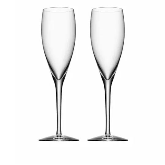 Orrefors More Champagneglas 2 x 18cl