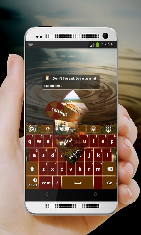Apocalypse GO Keyboard- screenshot