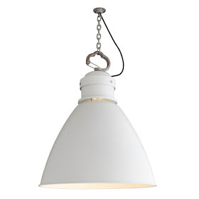 Davey Lighting Large 7380 Taklampa Vit 53 cm - lavanille.com