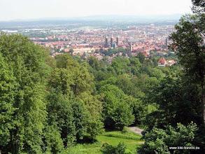 Photo: Bamberg. Uitzicht vanaf de Altenburg.