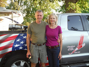 Photo: Don Reuter's Brother John and wife Kathy visit us in Rochester MN