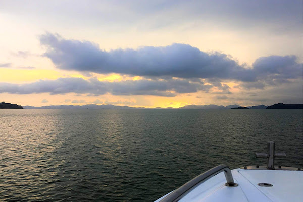 Enjoy a good view of the hundred islands in Phang Nga Bay before the hordes arrive