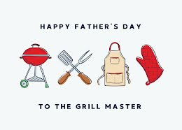 To the Grill Master - Father's Day item