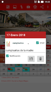 Colombia Calendario 2018 - náhled