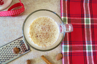 Photo: Eggnog Latte - A hot holiday coffee drink made with lite eggnog, milk and espresso topped with a sprinkle of nutmeg.  http://www.peanutbutterandpeppers.com/2012/11/23/the-holiday-season-has-begun/#comment-11863  #eggnog   #coffee   #eggnoglatte   #holidaydrink