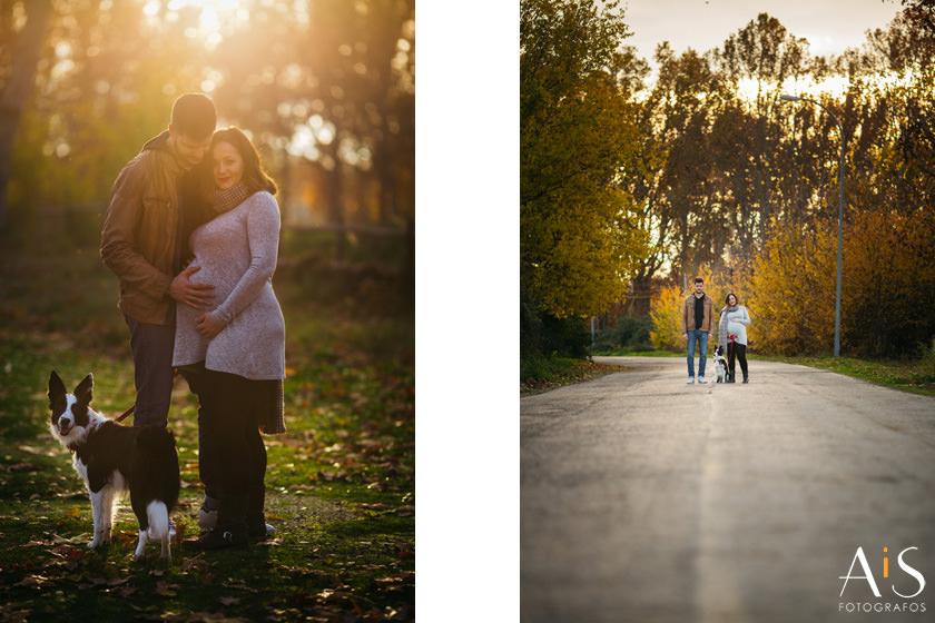 Fotos de embarazo en Aranjuez