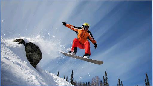 スノーボードの壁紙