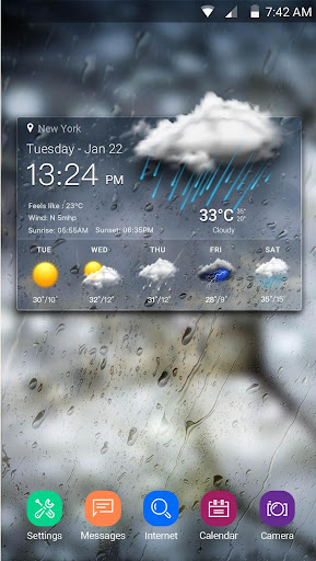 Real-time weather forecasts 10.0.0.2001 screenshots 1