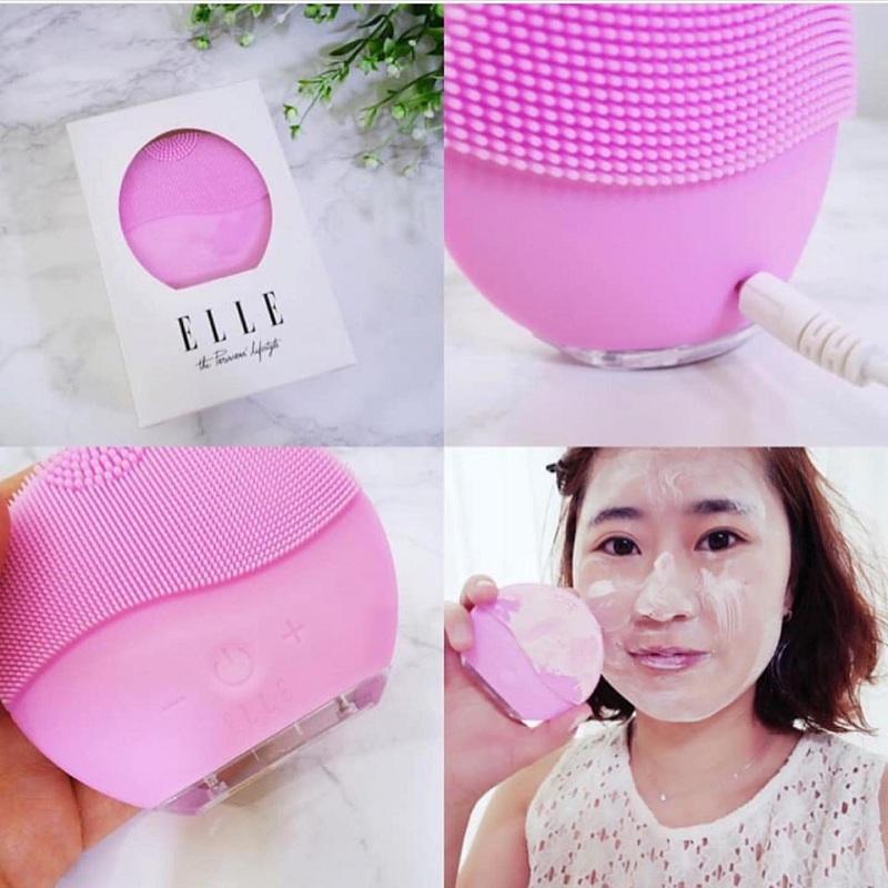 Máy rửa mặt Elle Hàn Quốc có thật sự làm sạch da mặt?