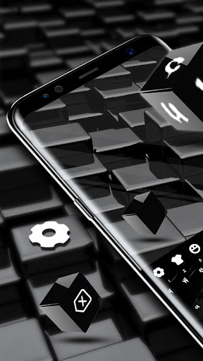 Black Cube Cool Keyboard for Huawei 10 for PC