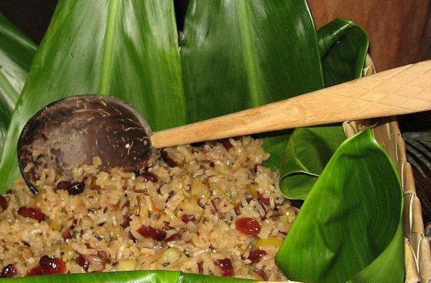 Apple Rice Pilaf with Cranberries & Almonds Recipe